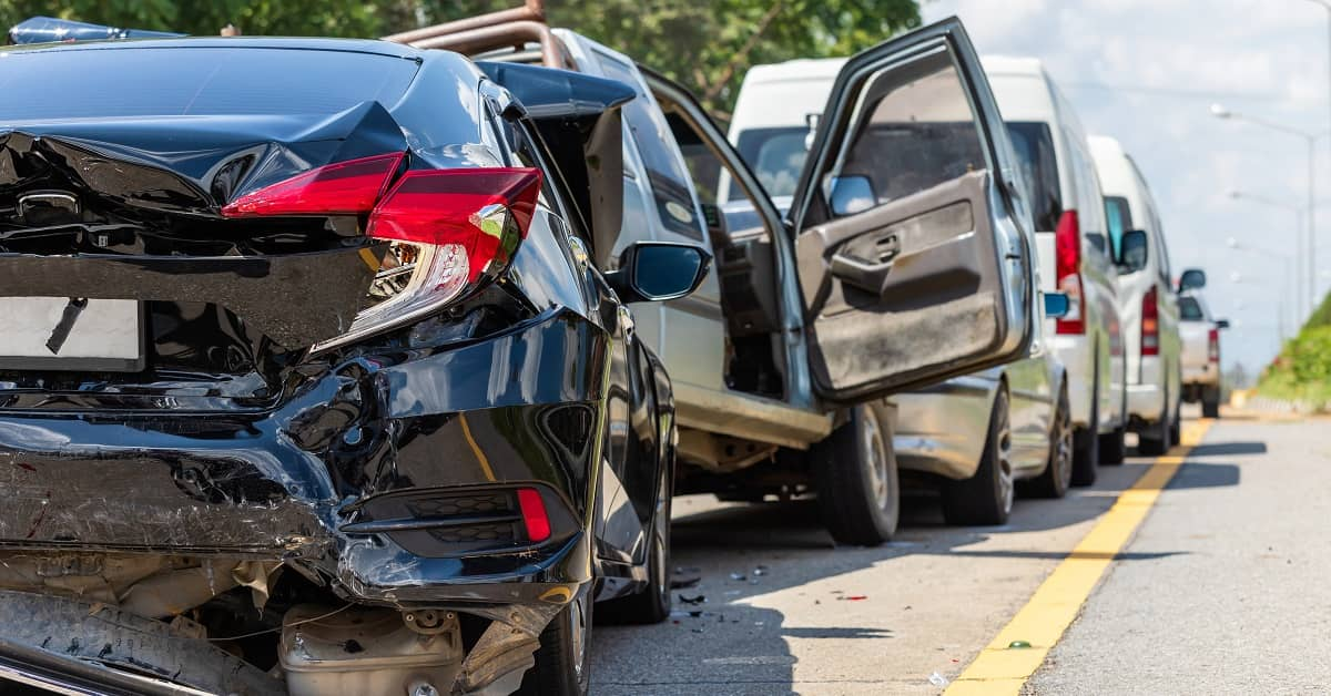 Fault in Crashes with Multiple Vehicles | O'Connor and Partners